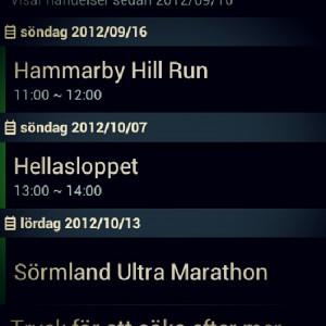 Hammarby Hill Run och Hellasloppet