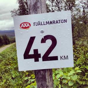 AXA Fjällmarathon 42 km