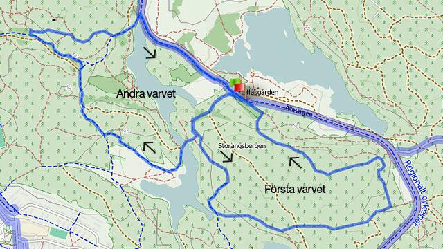 10 km-banan Hellasloppet