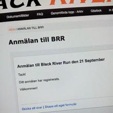 Anmälan Black River Run