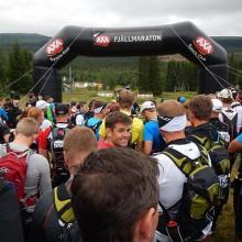Starten, AXA Fjällmaraton