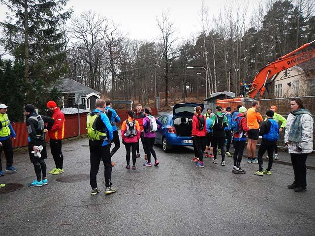 Årets sista långpass, 40 km