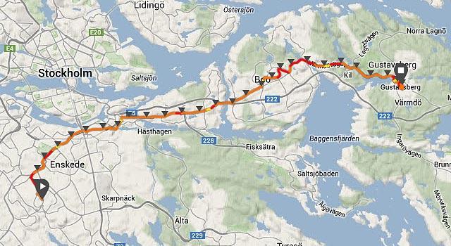 Långpass till Gustavsberg