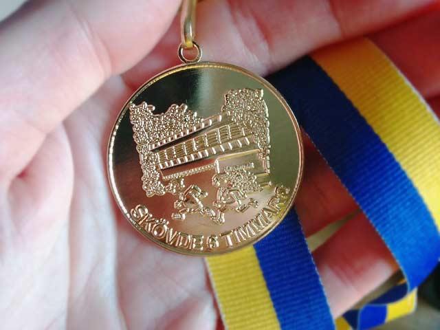 Medalj Skövde 6-timmars