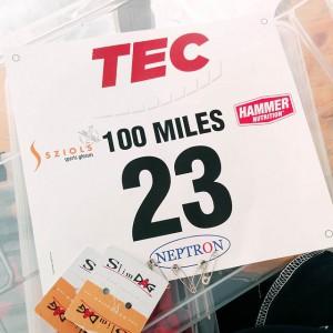 Startnummer 23, Tec 100 miles