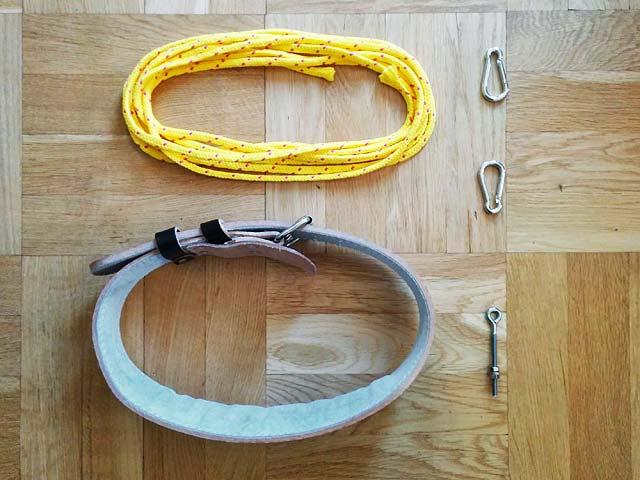 Utrustning för däcklöpning