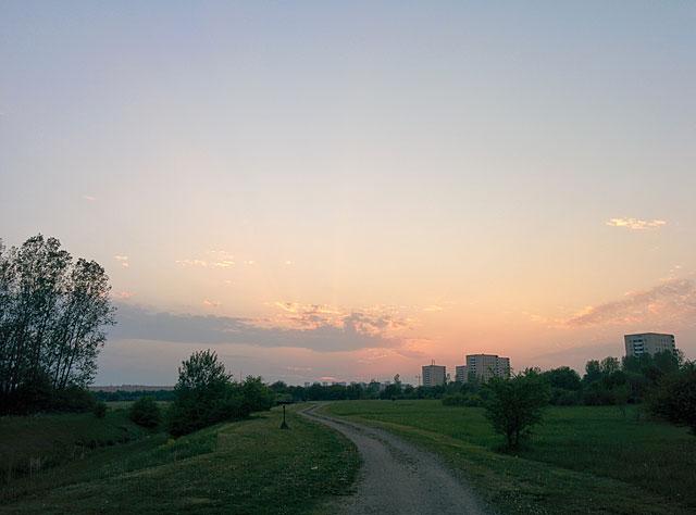 Solnedgång Årsta