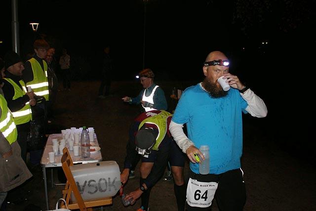 Nattlöpning under Black River Run 2014