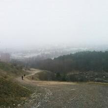 Nedför Hammarbybacken
