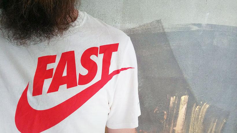 Nike Running Fast