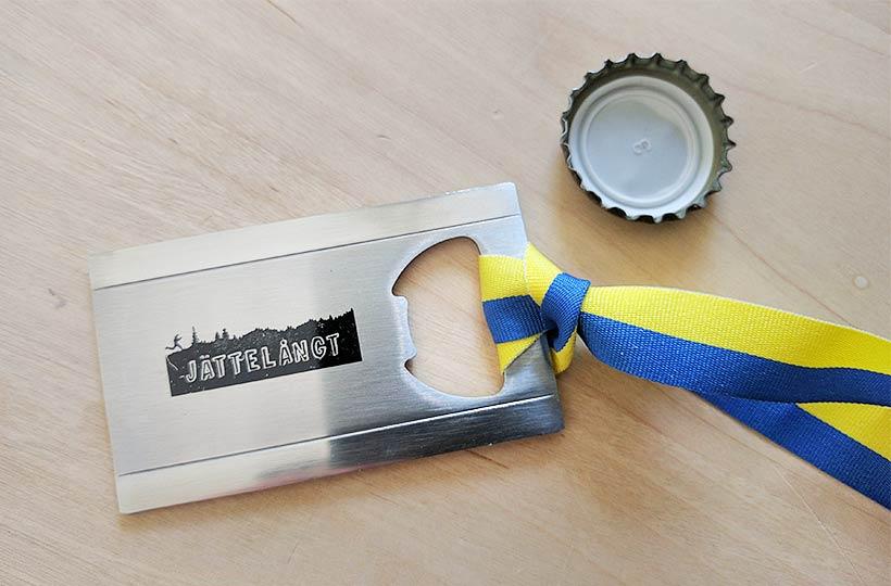 Medalj Jättelångt