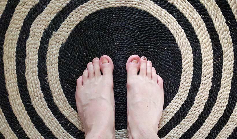 Nystart för fötter