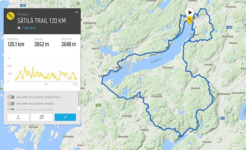 Bana: Sätila Trail 120 km