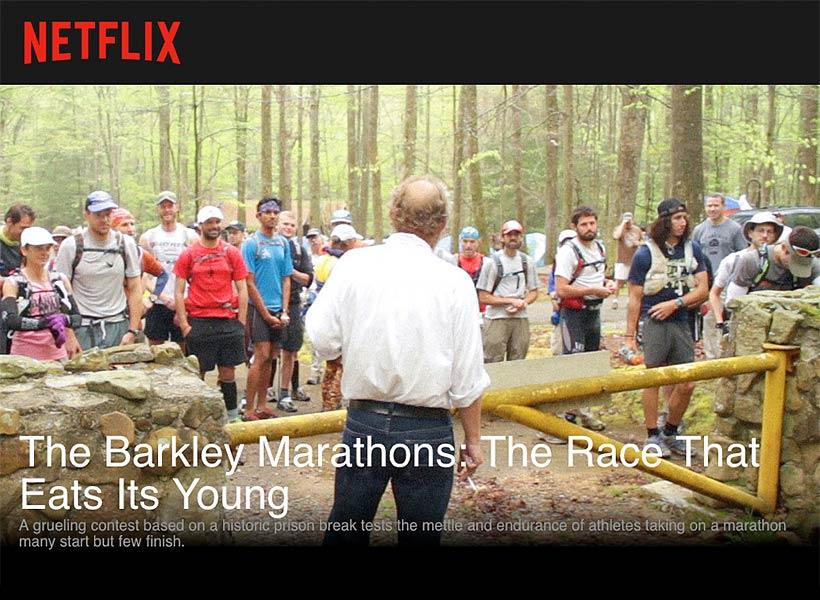 Barkley Maratons på Netflix
