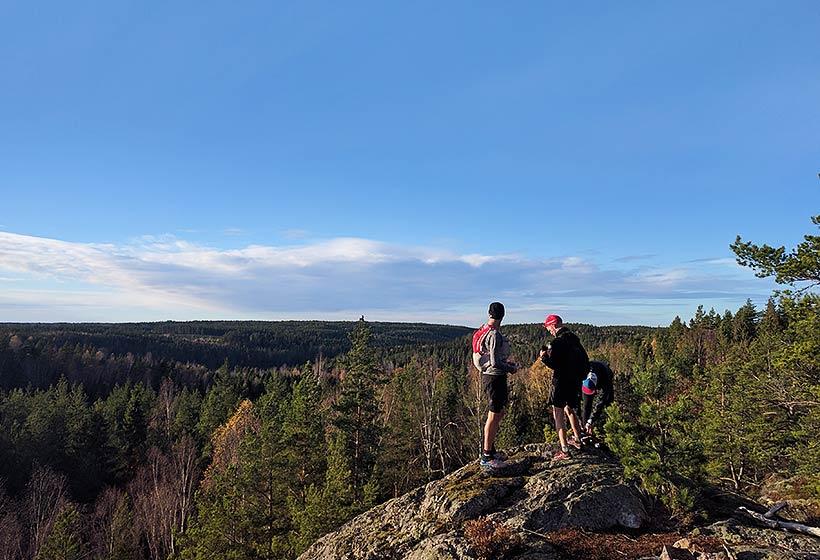 Sörmlandsleden with a view