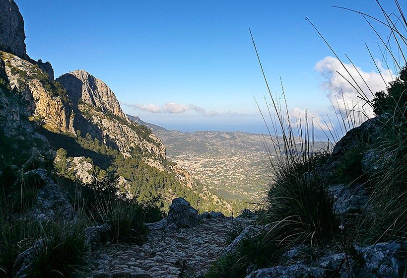 Stiglöpning på Mallorca