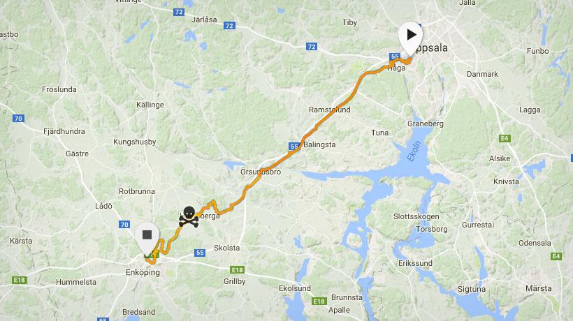 Karta Aros Marathon