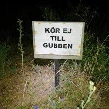 Kör ej till Hoburgsgubben