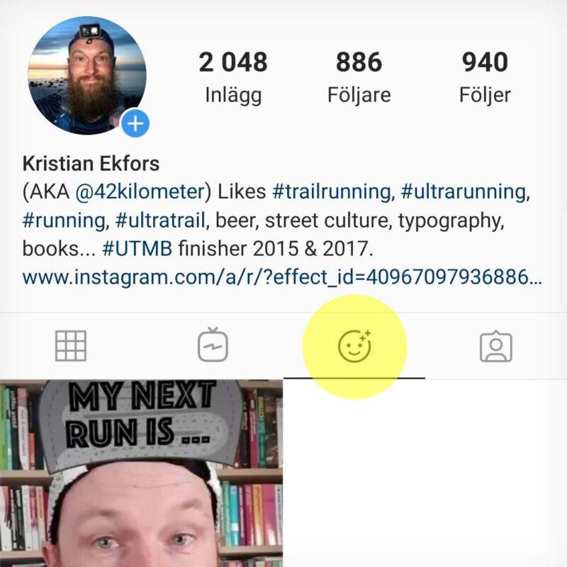 Instagramprofil